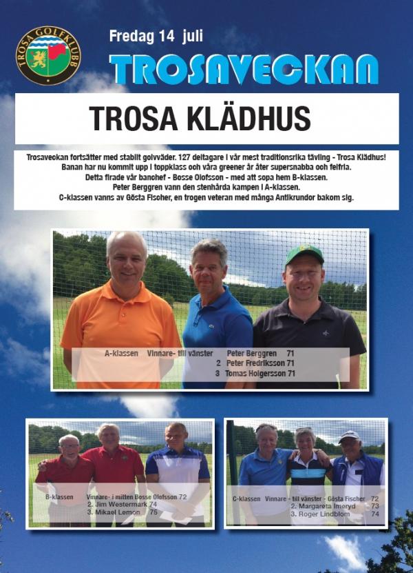 Trosa Klädhus resultat 2017