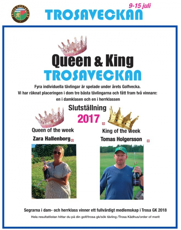 Queen&King vinnare