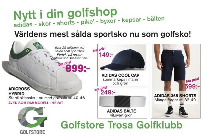 Adidas, skor mm