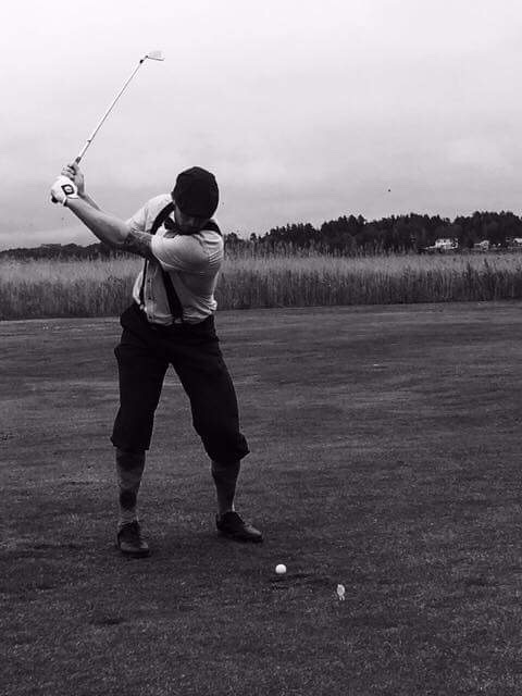 Backswing svart vit