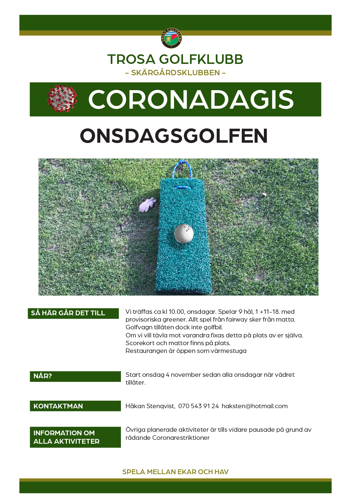 coronadagis onsdagsgolf 2